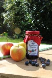 Apfel Heidelbeeren Konfitüre, 245 Gramm