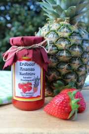 Erdbeer Ananas Konfitüre, 245 Gramm